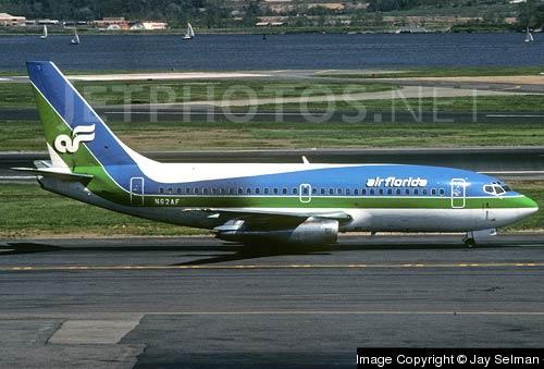 фото Boeing 737-222 № N62AF